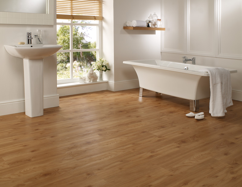 Ideas for bathroom floors houspire How to install laminate flooring in a bathroom