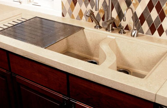 Concrete sink all the way a must have in your kitchen bluebath blog concrete sink kitchen workwithnaturefo