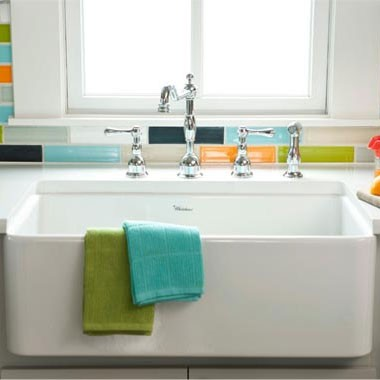 The Whitehaus Farmhouse Kitchen Sink - Product of the Week!