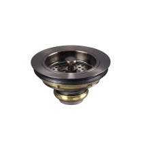 Lenova A-SC-03 Copper 3 1/2 Sink Strainer