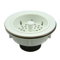 Gourmetier BSP1011 Kitchen Sink Strainer in White