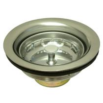 Gourmetier K111 Stainless Steel Kitchen Sink Waste Basket in Satin Nickel