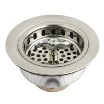 Gourmetier K211 Stainless Steel Kitchen Sink Waste Basket in Satin Nickel
