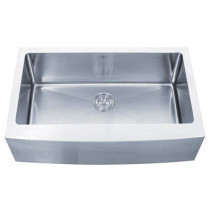 Kraus KHF200-33 33 inch Farmhouse Single Bowl Stainless Steel Kitchen Sink