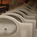 wall hung sinks manufacturing