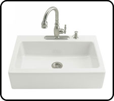 Cast Iron Farm Sink