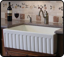 Fireclay farm sinks
