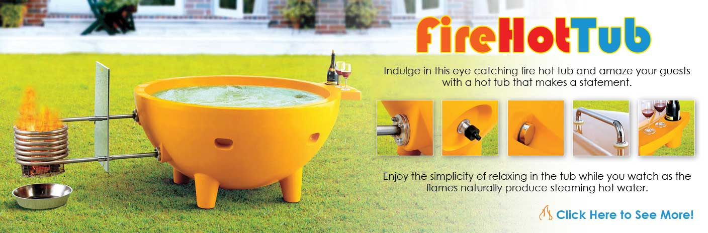 Come on Baby Light My Fire with This Awesome Portable Spa