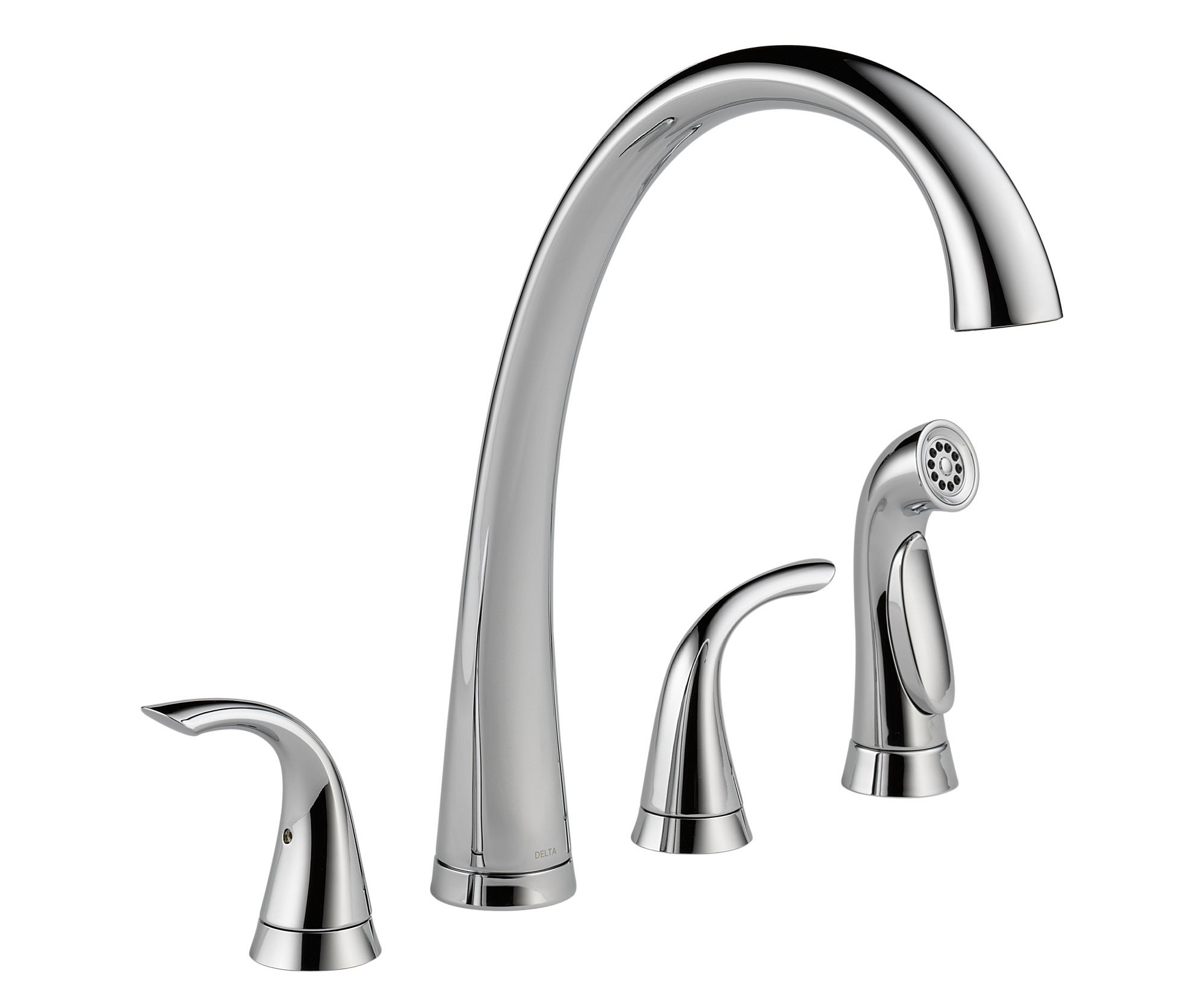 Delta 2480 Dst Pilar Two Handle Widespread Kitchen Faucet