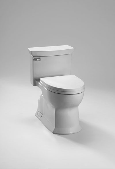 TOTO MS964214CEFG One-Piece Contemporary Design Toilet at ...