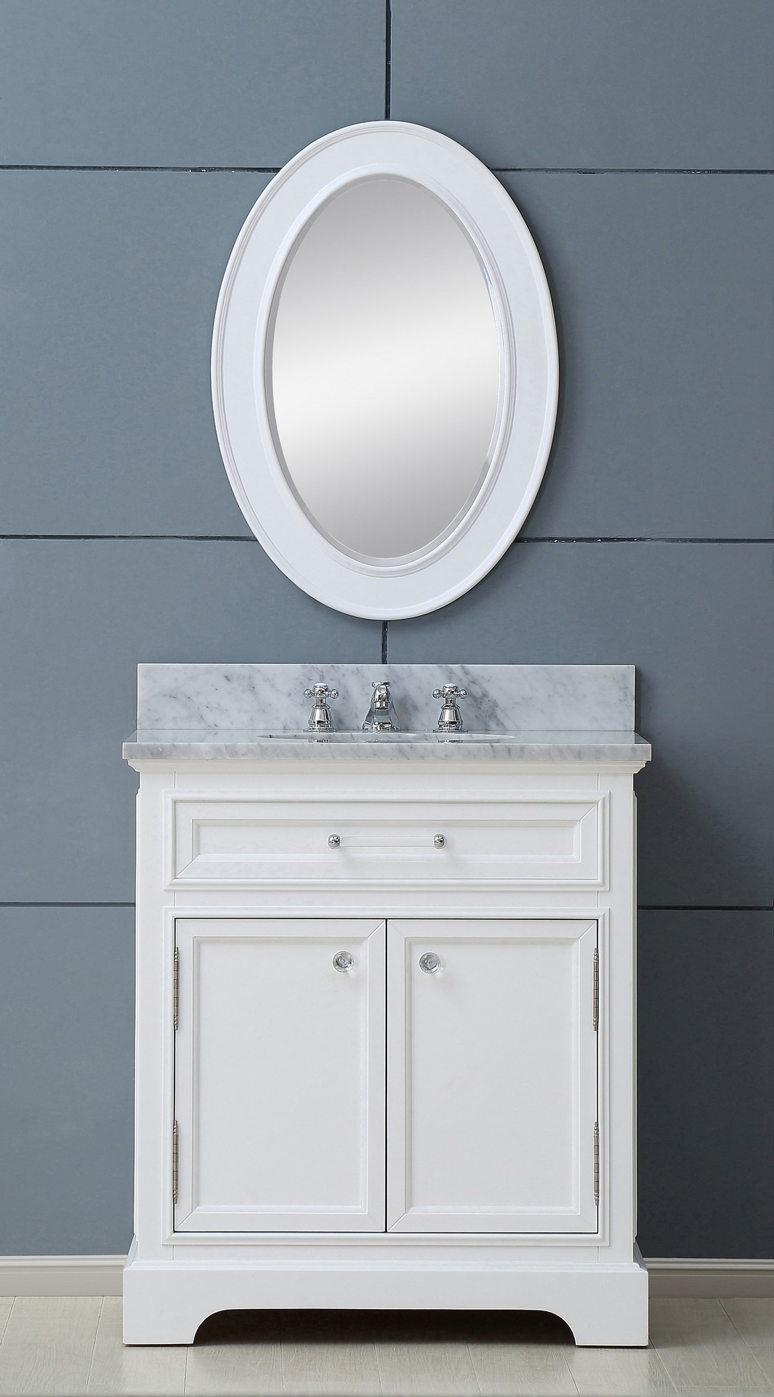 water creation derby 30wbf bath vanity with matching