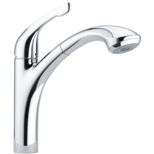 Hansgrohe 04076 Allegro E Pull-Out Kitchen Faucet