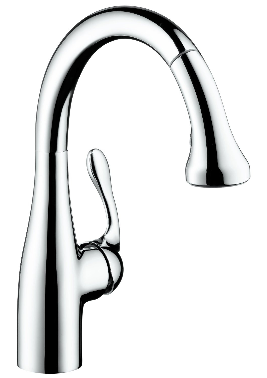 hansgrohe 04297000 Allegro E Gourmet 2-Spray Prep Kitchen Faucet in Chrome