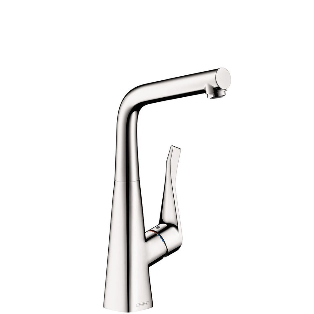 hansgrohe 04509000 Metris Lever Handle Bar Kitchen Faucet in Chrome