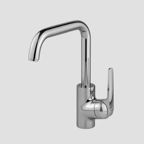 KWC Single Hole Right Side Lever Handle Kitchen Faucet
