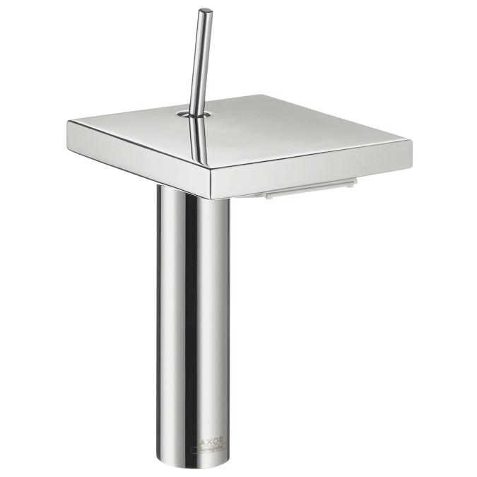 AXOR 10071001 Axor Starck X Single Hole 8 Inch Bathroom Faucet in Chrome