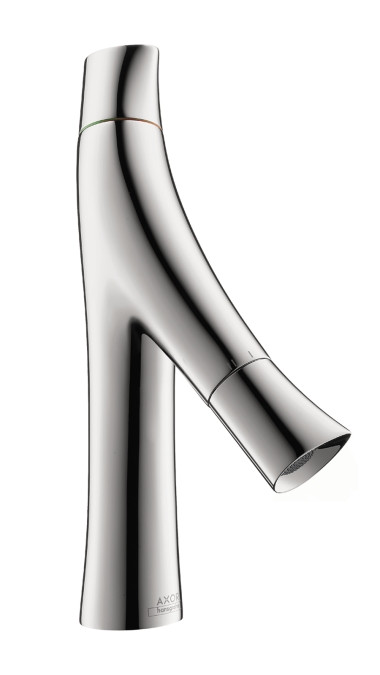AXOR 12011001 Starck Organic Faucet in Chrome with EcoRight Technology