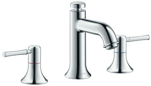 hansgrohe 14113001 Talis C Widespread Bathroom Faucet in Chrome