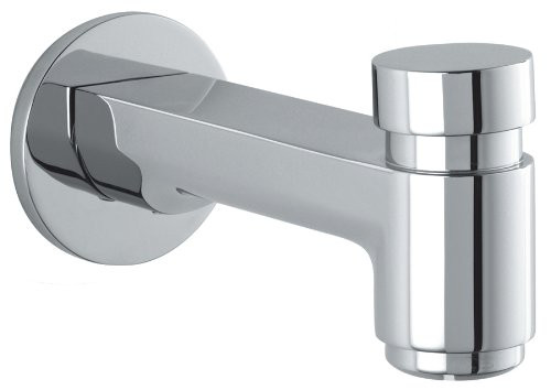 hansgrohe 14414001 Wall Mounted S Tub Spout with Diverter in Chrome