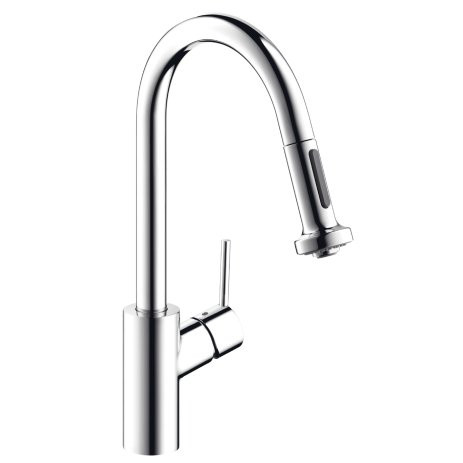 Hansgrohe 14877001 Talis S High Arc Kitchen Faucet In Polished Chrome