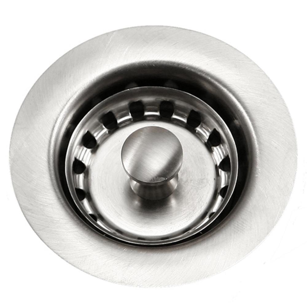 Houzer 190-4200 Preferra Kitchen Accessories Basket Strainer In Satin