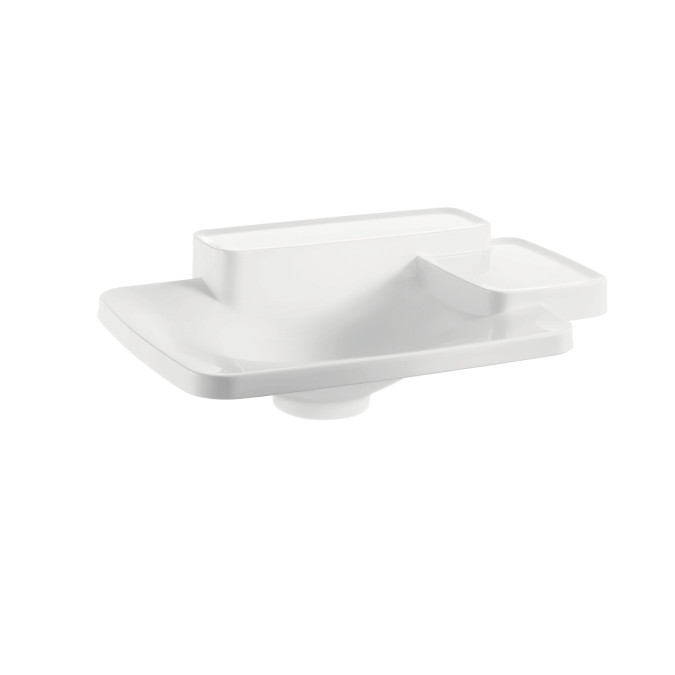 AXOR 19941000 AX Bouroullec Drop In Sink with Built In Shelf and Soap Dish