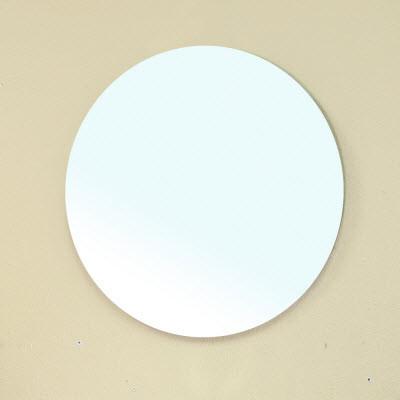 Bellaterra Home 203115-MIRROR 22 In. Frameless Round Bathroom Mirror