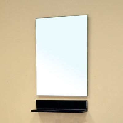 Bellaterra Home 203145-MIRROR Rectangle Frameless Bathroom Mirror