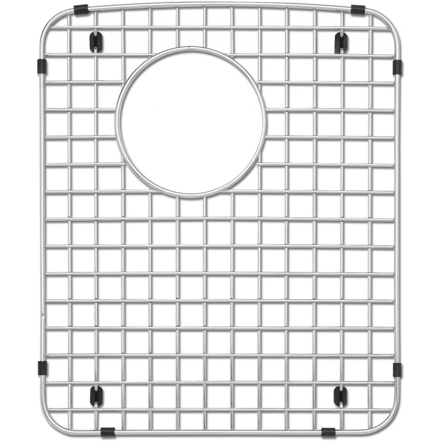 Blanco 221009 Stainless Steel Kitchen Sink Grid Fits Diamond Double Right Bowl