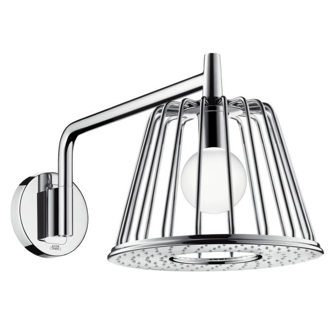 AXOR 26031001 LED Light Module Rain Shower Head with Quick Clean Technology