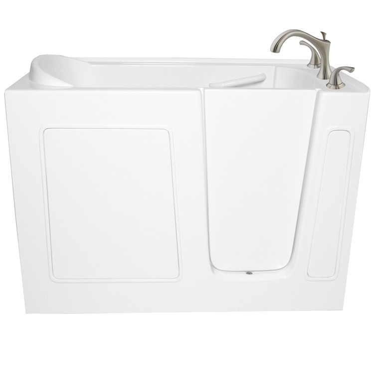 """Ariel EZWT-3048-SOAKER 48 x 30 x 39"""" Walk In Free Standing 50 Gal Bath Tub"""