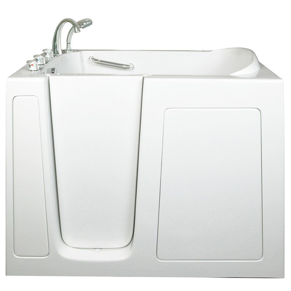Ella's Bubbles 305211L Ella Low Soaking Walk In Bath with Left Side Door
