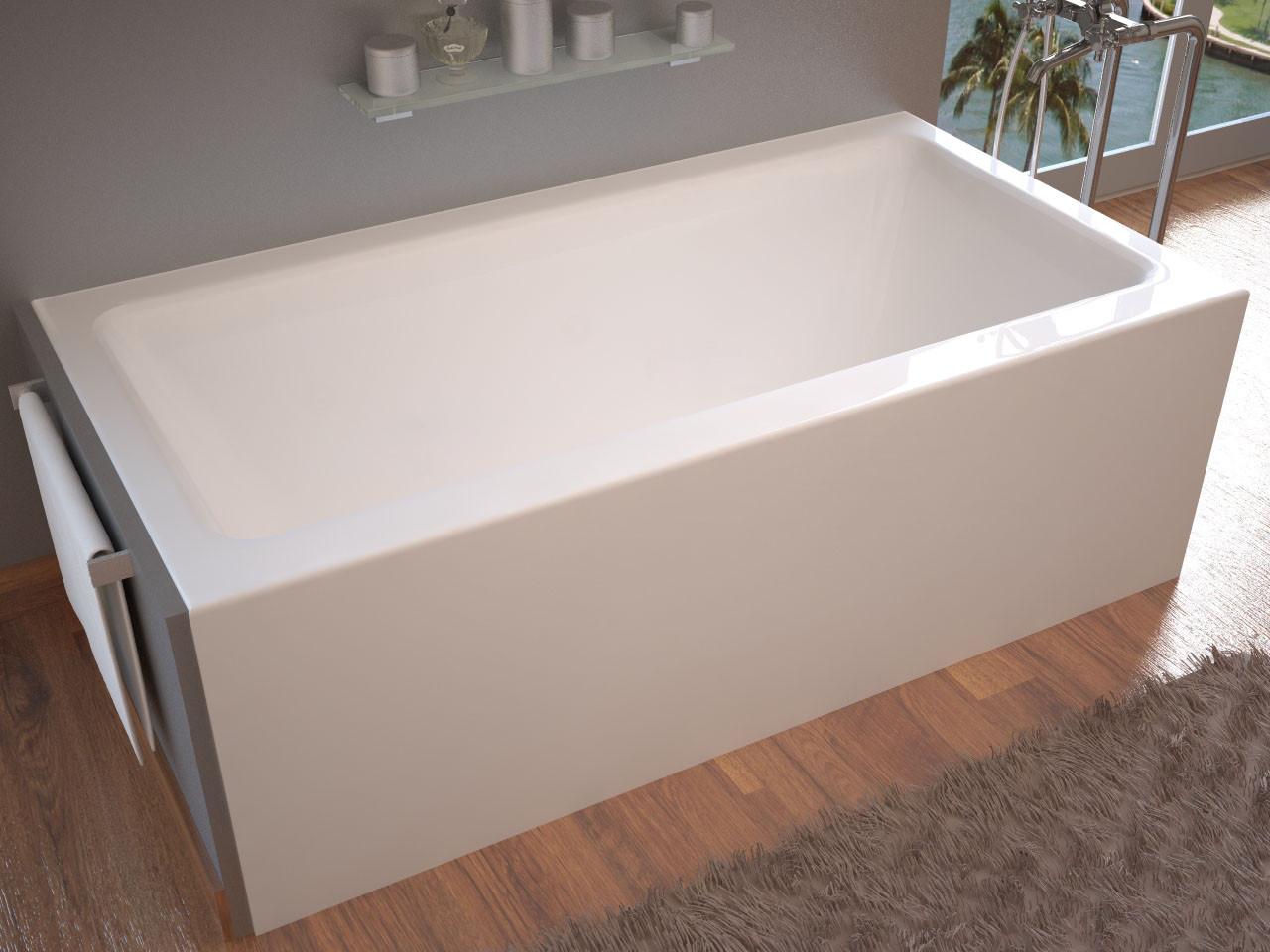 MediTub 3060SHR Atlantis Soho 30 x 60 Front Skirted Tub With Right Drain