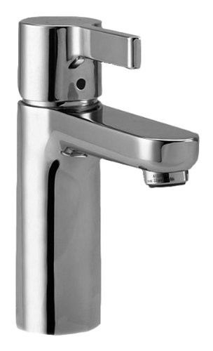 hansgrohe 31060001 Metris S Single Hole Faucet with Drain in Chrome