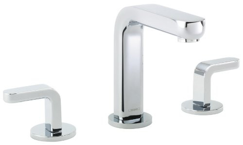 hansgrohe 31067001 Metris S Chrome Widespread Faucet with Lever Handle