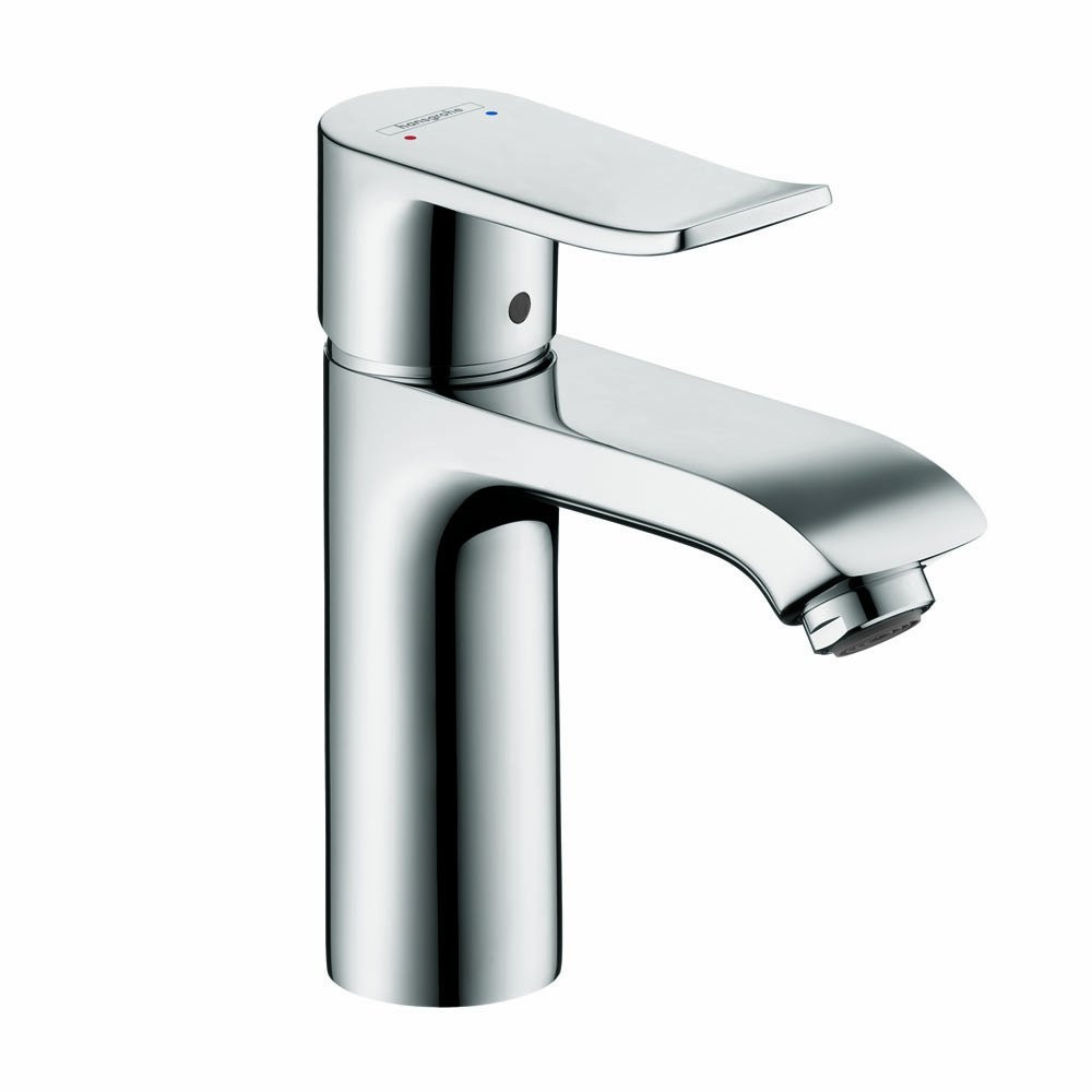 hansgrohe 31121001 Metris 110 Single Hole Faucet CoolStart in Chrome