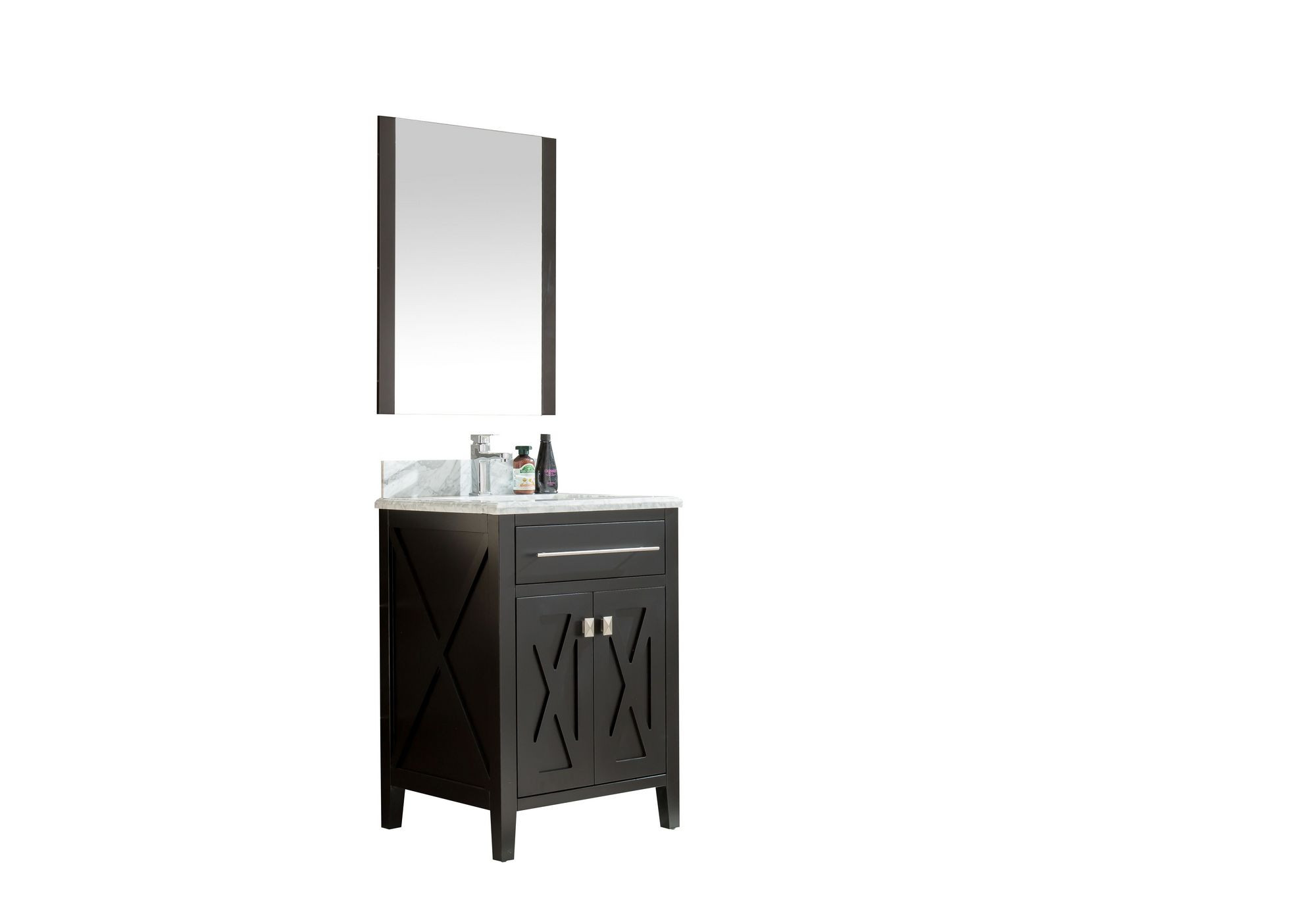 Laviva 313YG319-24E-WC Espresso White Finish