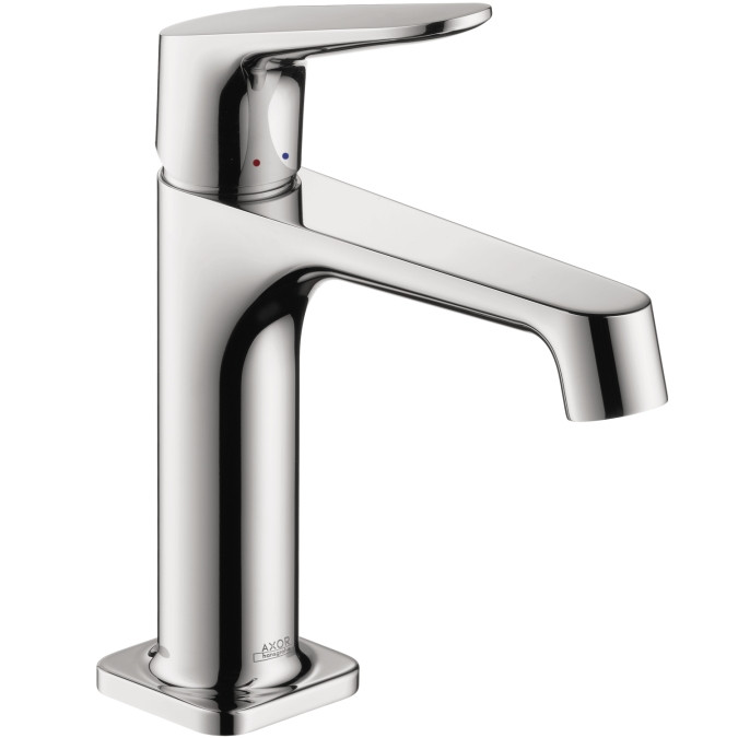 AXOR 34010001 Citterio M Deck Mounted Single Hole Faucet in Chrome