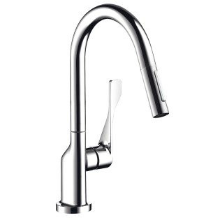 Axor 39835001 Citterio Pull-Down Kitchen Faucet In Polished Chrome
