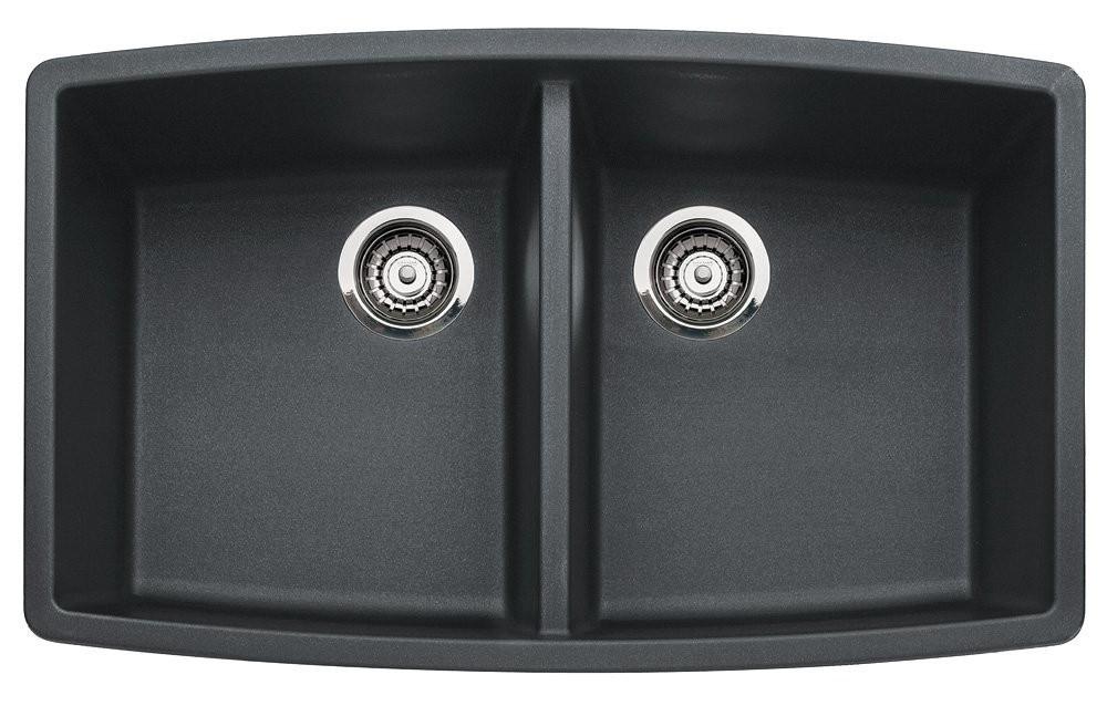 Blanco 440069 Performa™ SILGRANIT Double Bowl Granite Kitchen Sink in Anthracite