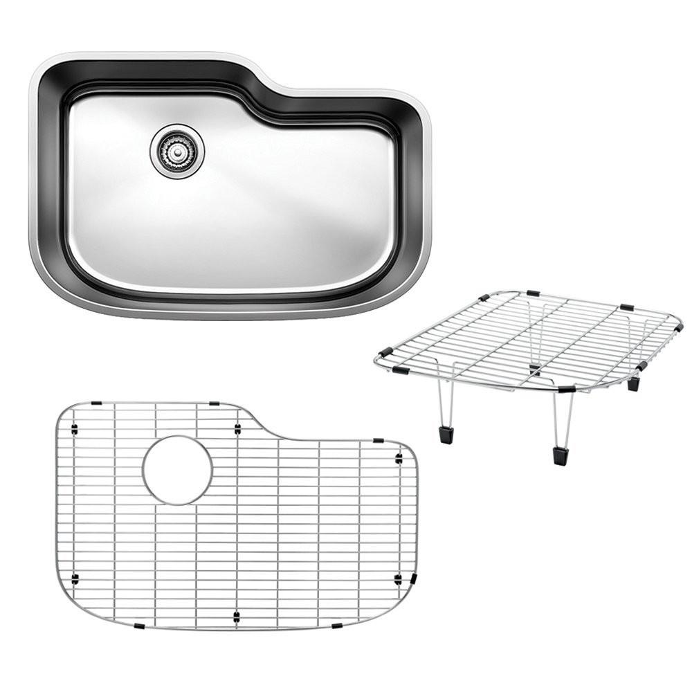 Blanco 441645 One XL Single Bowl Undermount Kitchen Sink with Multi Level Kit