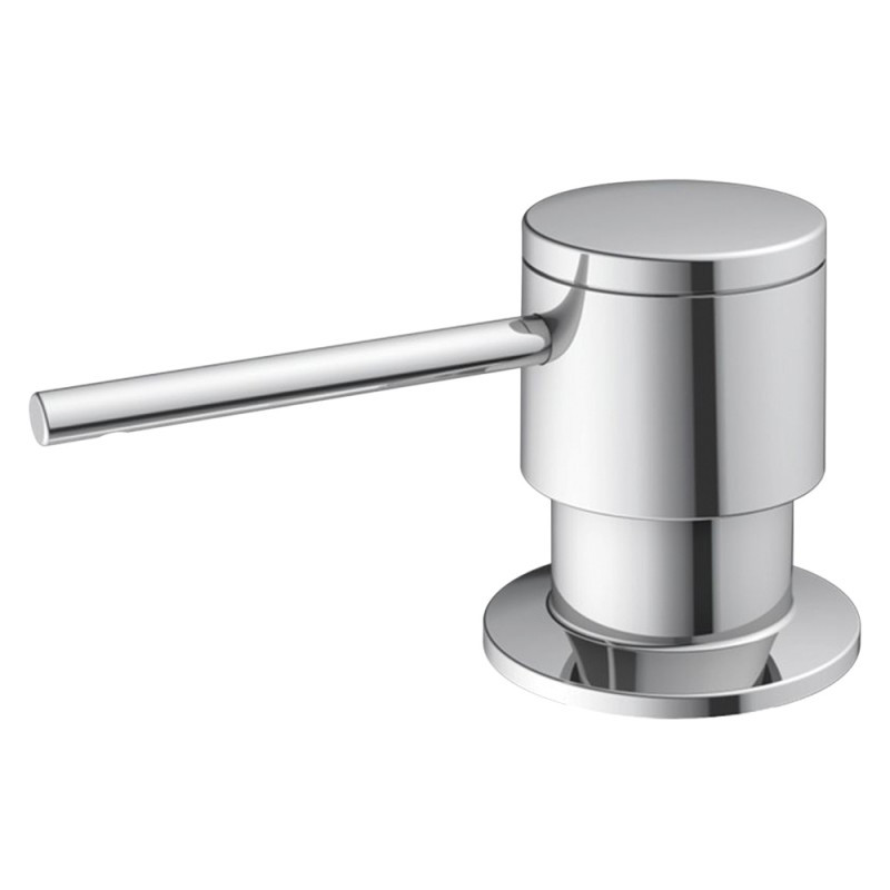 Blanco 441756 Sonoma Solid Brass Kitchen Accessories Soap Dispenser in Polished Chrome