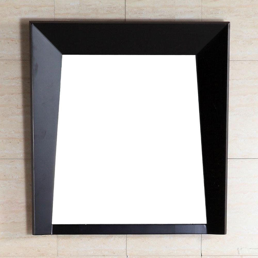 Bellaterra Home 500410-MIR-ES-24 Wood Frame Mirror In Dark Espresso
