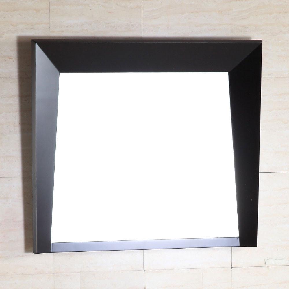 Bellaterra Home 500410-MIR-ES-30 High quality Wood Frame Bathroom Mirror