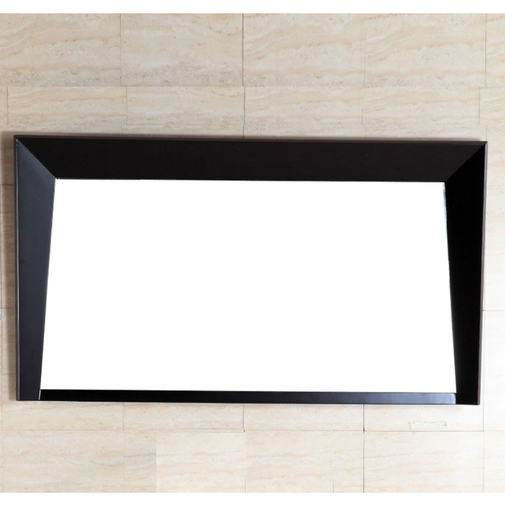 Bellaterra Home 500410-MIR-ES-48 Rectangular Wood Frame Mirror