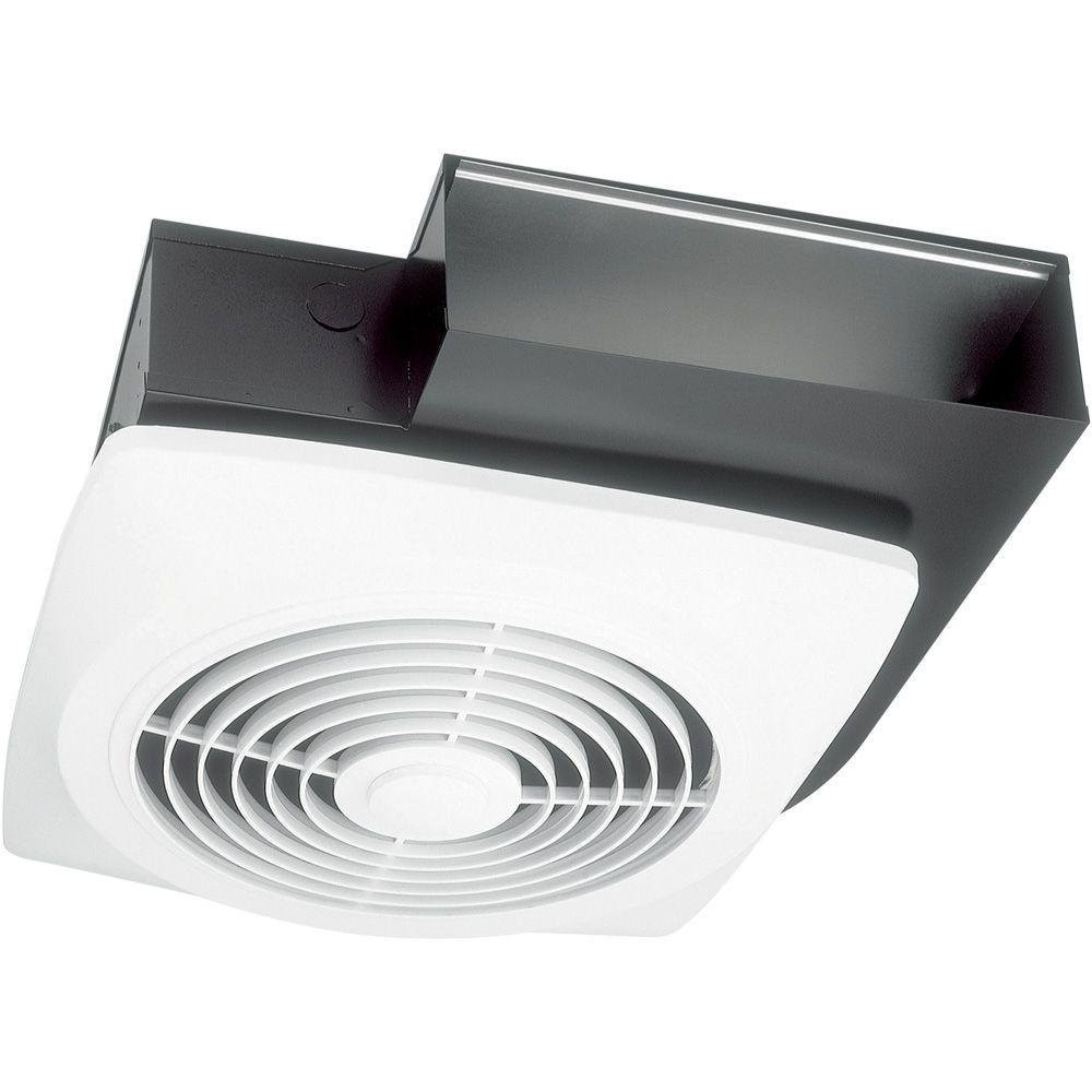 Broan 503 Celling Mount Bathroom Fan for 3-1/4x10 Inch Ducts In White