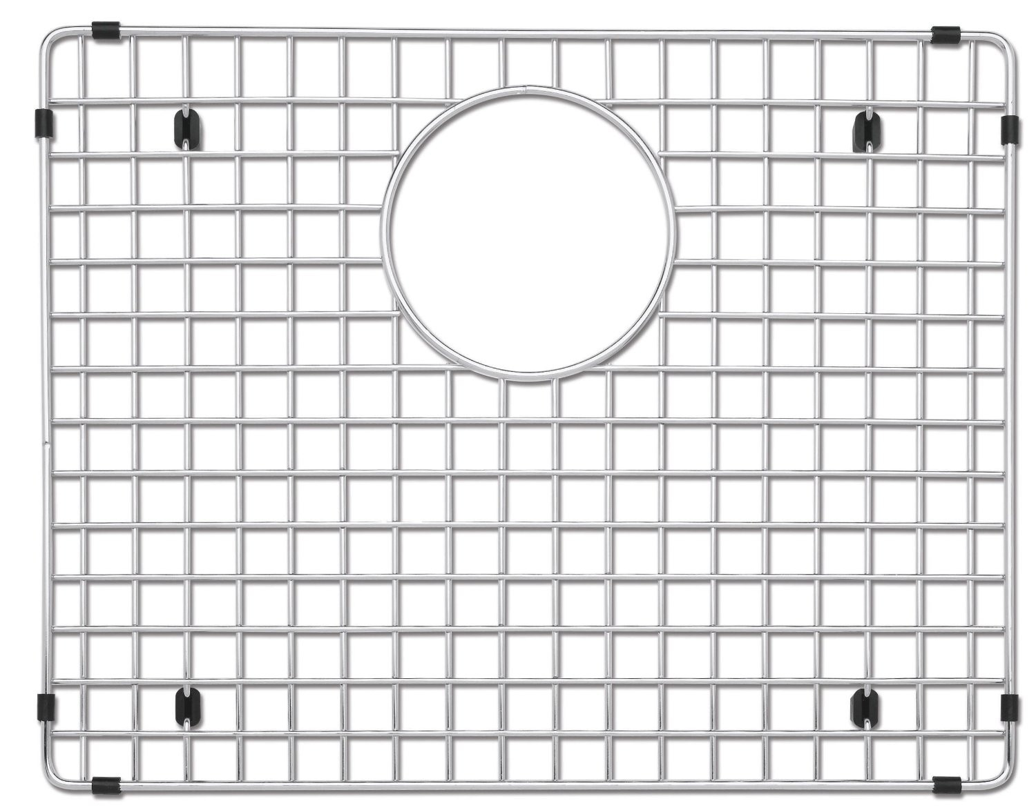 Blanco 516271 Stainless Steel Kitchen Grid Fits Precision 16 Inch Sinks