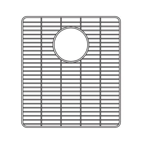 Houzer 629703 13 Inch by 14-4/7 Inch by 5/8 Inch Wirecraft Bottom Grid