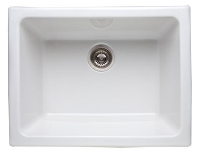 Rohl 6347 Allia 24'' Undermount Fireclay Sink