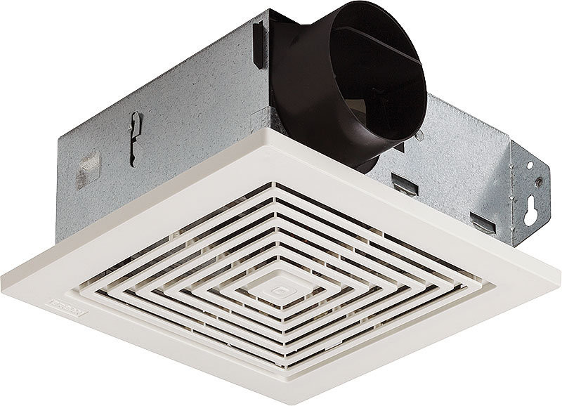 Broan 670 Bath Ventilation Fan Ceiling/Wall Deluxe Series - for 3 Inch Duct